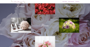 web eliflowers floristeria